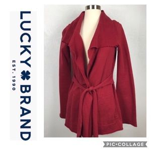 Lucky Brand | Belted Open Cardigan~S